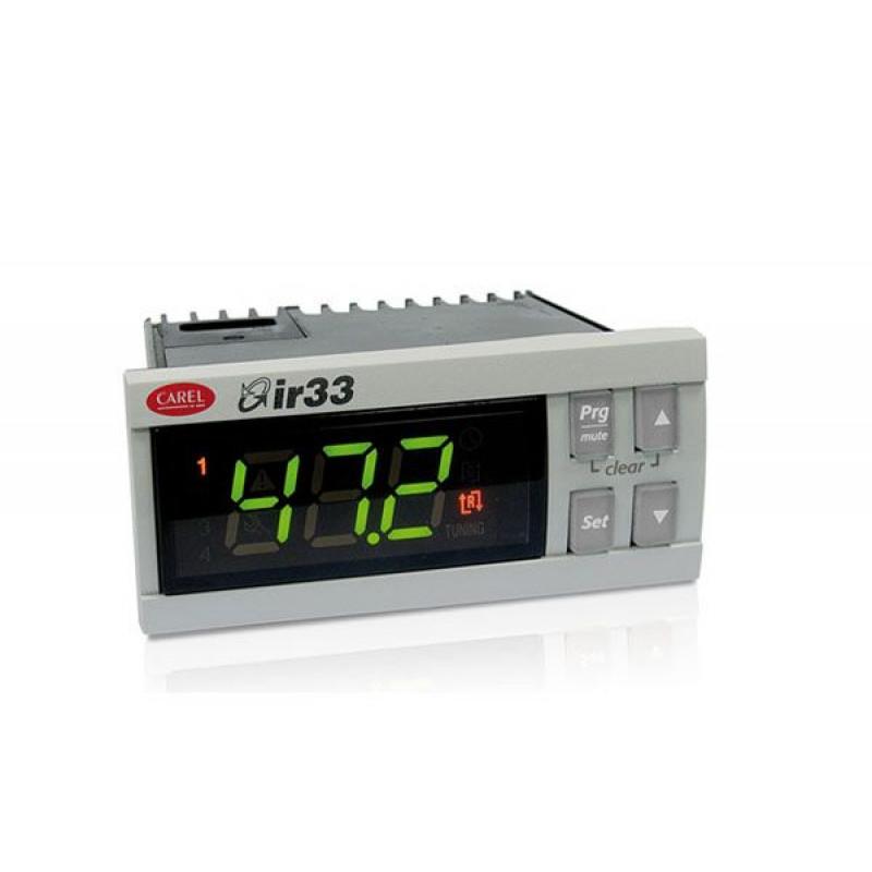 IR33V9HR20-  Controlador Universal com 2 Entradas Configuráveis + 1 saída a relé, 115 a 230V