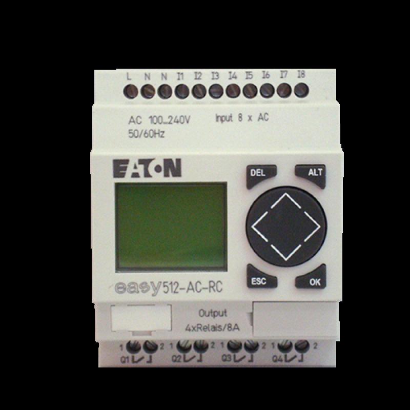 EASY512-AC-RC - RELE ELETRONICO 8ED/4SD