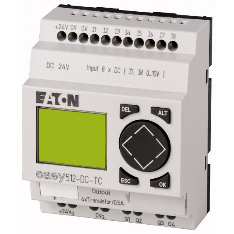 EASY512-DC-TC - RELE ELETRONICO 8ED/4SD