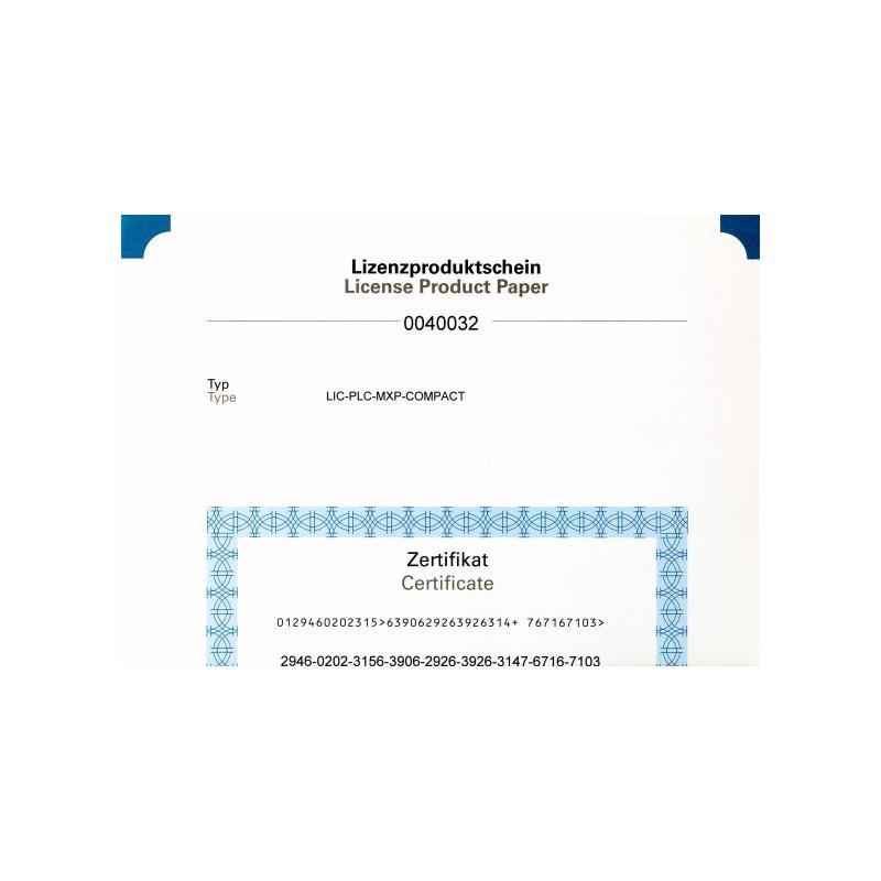 LIC-PLC-MXP-COMPACT - LICENCA CLP PARA AS IHMS XV100