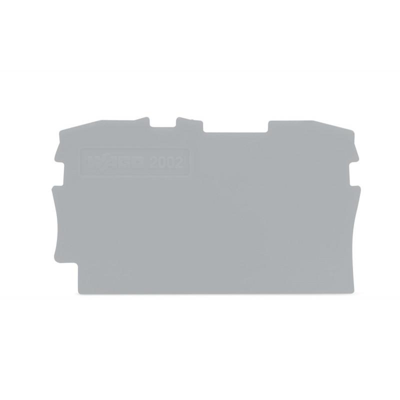2002-1291 - TAMPA PARA BORNE MOLA 2,5MM CINZA