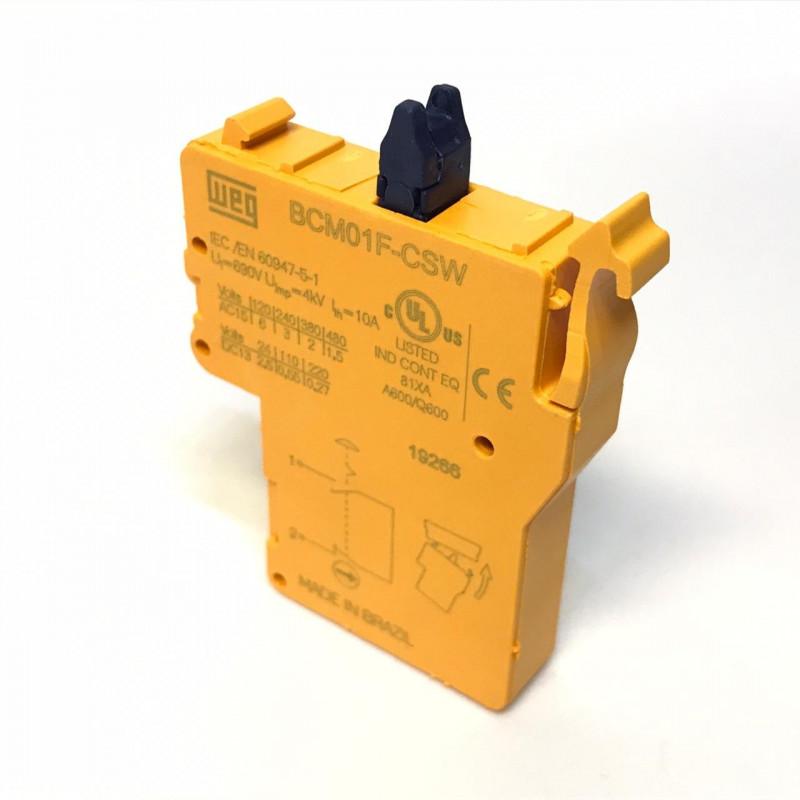 Bloco Contato NF monitorado BCM01F-CSW